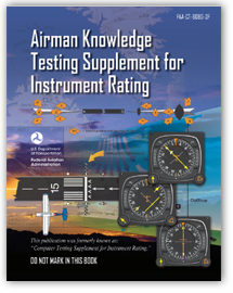 Airman Knowledge Testing Supplement for Instrument Rating