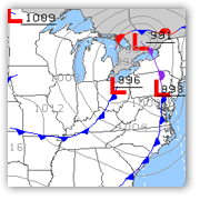 Aviation Weather Center - Surface Analysis Charts