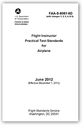 Flight Instructor Practical Test Standards for Airplane