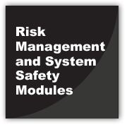 Risk Management and System Safety Modules
