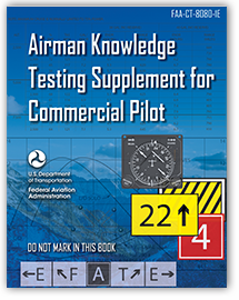 Airman Knowledge Testing Supplement for Commercial Pilot