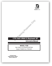172S NAV I/NAV II Skyhawk SP NAV I/NAV II Avionics Option