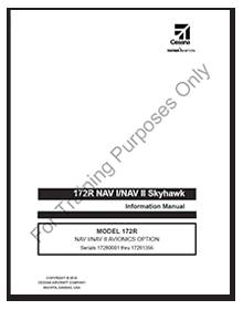 172R NAV I/NAV II Skyhawk NAV I/NAV II Avionics Option