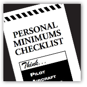 Personal Minimum's Checklist